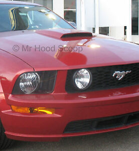 Painted Ford Mustang Gt Hood Scoop California Special W Honey Comb Grille Hs008