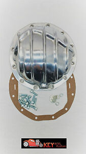 Gm 8 875 12 Bolt Car Finned Aluminum Rear End Differential Cover Chevelle Z28