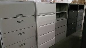 5 Drawer Lateral File Cabinets Key And Local Delivery Available