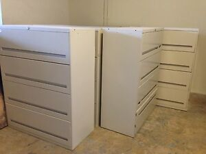 File Cabinets 4 Drawer Lateral Style keys And Local Delivery Available