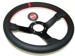 Sparco Champion Street Steering Wheel 330mm Perforated Leather 015tchmp