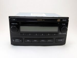 2004 2008 Toyota Matrix Radio Cd Player Stereo Oem Factory 86120 02400 Oem