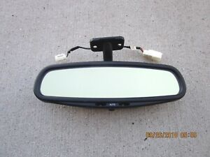 98 04 Volvo C70 Convertible 2d Coupe Rear View Auto Dim Map Light Mirror