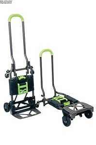 Appliance Hand Truck Portable Folding Cart Convertible Dolly Hauling Collapsible
