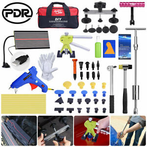 Pdr Auto Body Tools Dent Lifter Puller Led Line Board Paintless Hail Removal Kit