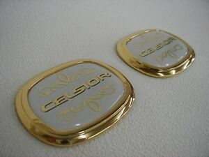Lexus Ls Ls430 2000 2006 Toyota Genuine Parts Celsior Pillar Emblem Pair Japan