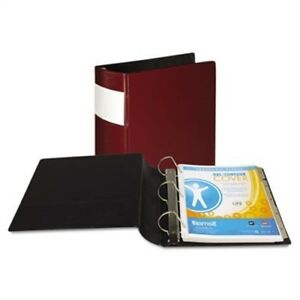 Top Performance Dxl Locking D ring Binder With Label Holder 3 Cap Burgundy X2