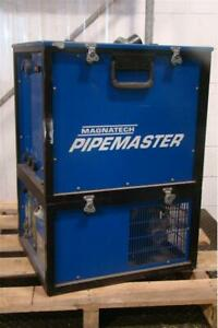 Magnatech Pipemaster 510 Dual Wire Orbital D head Welder Unit 903 Cooler 230 460