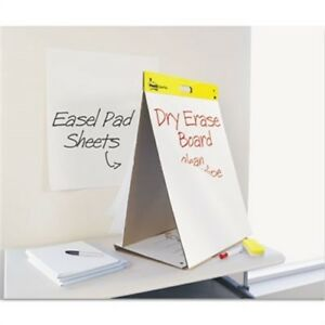 Dry Erase Tabletop Easel Unruled Pad 20 X 23 White 20 Sheets pad