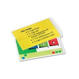 Laminating Pouches 5 Mil 11 1 2 X 9 100 pack X 2