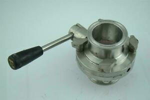 2 1 2 Ss Butterfly Valve Tri clamp