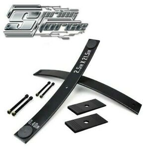 For 05 18 Nissan Frontier 2 Short Helper Springs Add a leaf Kit Shims 2wd 4wd