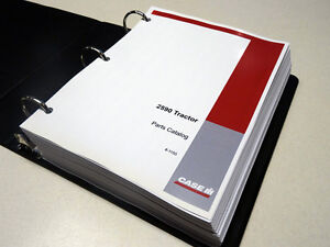 Case 2590 Tractor Parts Catalog Manual List Book New W binder
