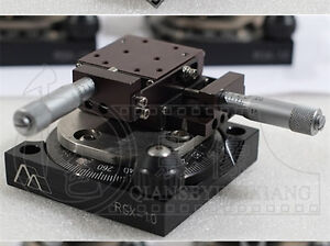 360 Rotary Stage Xy Two Axis Precision Stage Del tron 101 Rsx 1 0 c0p5