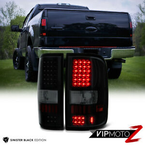 2004 2008 Ford F150 Lobo sinister Black Smd Led Rear Tail Lights Lamp Assembly