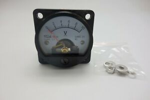 Dc 0 10v Analog Voltmeter Analogue Voltage Panel Meter So45 Directly Connect