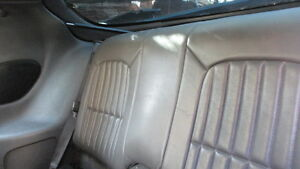 1997 Firebird Trans Am Upper Rear Seat In Grey Leather