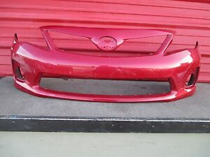 2011 2012 2013 Toyota Corolla S Front Bumper Cover Oem 11 12 13 2921