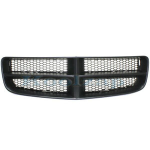 06 10 Charger Front Grill Grille Assembly Black Shell Frame Ch1200376 68148158aa