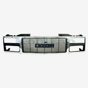 88 93 C k Fullsize Pickup Truck Grill Grille Assembly Chrome Gm1200229 15615109