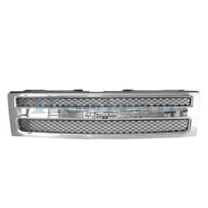 New 07 13 Silverado Pickup Truck Front Grill Grille Assembly Gm1200572 25810707
