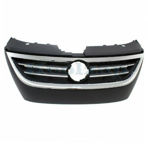 09 12 Vw Passat Cc Front Face Bar Grill Grille Assembly Plastic W o Park Assist