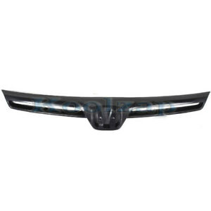 06 07 08 Civic Coupe Front Grill Grille Assembly Black Ho1200174 75100svaa01za