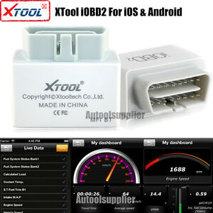 Xtool Iobd2 Mfi Wif Ibluetooth Obd2 Diagnostic Scanner For Ios Android Us Stock