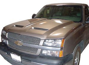 Chevy Silverado 2003 2006 1500 2003 2004 Hd Ram Air Hood Rk Sport 29012000