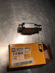 218 5844 Cat Caterpillar Fitting Quick Disconnect Male 279c 289c 299c 247b