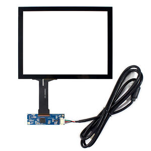 8 Capacitive Touch Panel Usb Controller For 800x600 1024x768 4 3 Lcd Screen