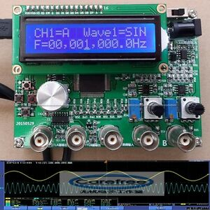 Dds Signal Source Module Dual Channel Signal Generator Frequenc 0 1hz To 10mhz