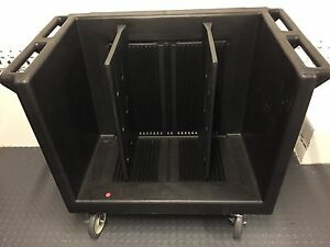 Cambro Tdc 30 Dish Caddy Cart Holds Plates Trays