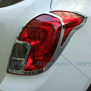 Chrome Tail Light Frame Trim For Opel Vauxhall Mokka Buick Encore 2013 2014 2015