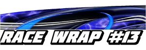 Race Car Graphics 13 Half Wrap Vinyl Decal Imca Late Model Dirt Trailer Truck