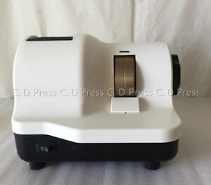 New Double Wheels Optical Lens Hand Edger Manual Lens Grinder Ly 600
