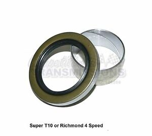 Super T10 Rear Seal Bushing Kit 1974 up Bw S10 Richmond 4 Speed Manual