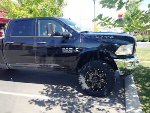 2015 2018 Dodge Ram 2500 2 1 2 Front Leveling Kit With Rear 1 1 2 Inch Lift