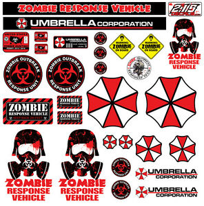 R C 1 10 Scale Zombie Decal Sticker Pack Set Body Axial Scx10 Wraith Crawler Rc