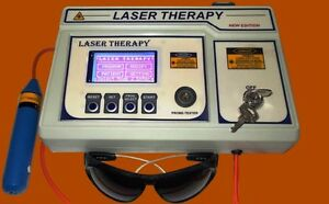 Computerised Laser Therapy Semiconductor Laser Machine For Physiotherapy Machine