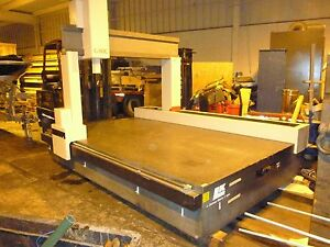 Granite Surface Plate 11 x74 5 x19 Thick Formerly Cmm Machine Good Condition