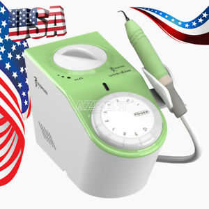 Usa Stock Woodpecker Uds j2 Led Dental Piezo Ultrasonic Scaler Handpiece Fit Ems