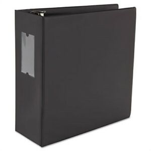 D ring Binder 5 Capacity 8 1 2 X 11 Black X 3