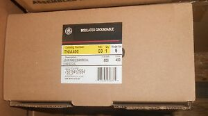 Ge Tnia400 New In Box Neutral Lugs 400amp Many Available Quick Ship