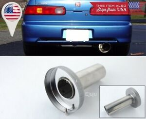 Silver Removable Stainless Muffler Silencer Insert For Honda 4 5 N1 Exhaust Tip