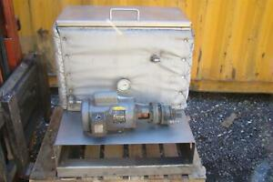Insulated Hydraulic Power Unit Pump 1 2 Hp Stainless Tank 115 230