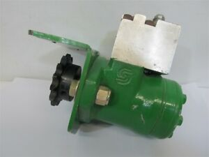 Ag Shield Mfg Cross Auger Hydraulic Drive Motor W mount Block