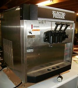Electro Freeze Soft Serve Machine