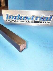 3 4 X 24 long 4130 Steel Square Bar 750 4130 Mil s 6758 Made In Usa