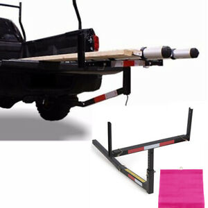 Pick Up Truck Bed Hitch Extender Steel Extension Rack For Boat Lumber Long Loads
